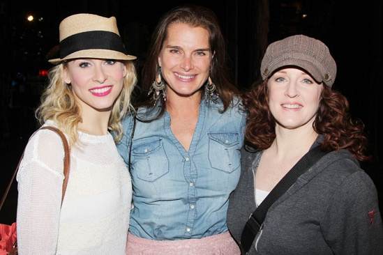 Brooke Shields at Cinderella – Brooke Shields – Stephanie Gibson – Linda Mugleston
