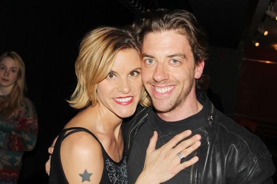The Memory Show – Opening Night – Jenn Colella – Christian Borle