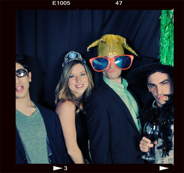 2013 BACA Photo Booth – Jess LeProtto – Corey Cott wife Meghan – Corey Cott – Tommy Bracco
