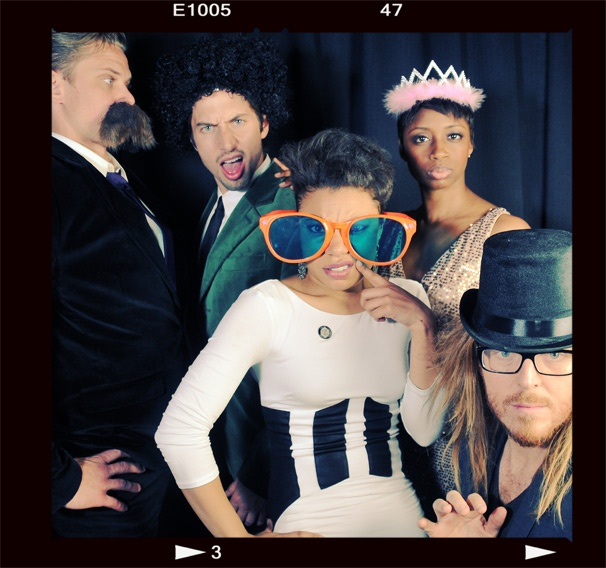 2013 BACA Photo Booth – Billy Magnussen – Nick Adams – Shalita Grant – Montego Glover – Tim Minchin
