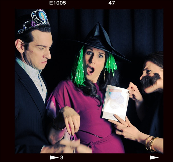 2013 BACA Photo Booth – Andy Karl – Stephanie J. Block – Jessie Mueller