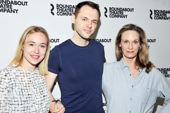 'The Unavoidable Disappearance of Tom Durnin' Meet and Greet — Sarah Goldberg — Christopher Denham — Lisa Emery