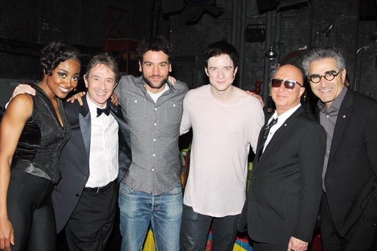 Pippin – Martin Short Backstage Visit – Patina Miller – Martin Short – Josh Radnor – Matthew James Thomas – Paul Shaffer – Eugene Levy