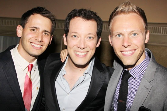 2013 Theatre World Awards — Benj Pasek — John Tartaglia — Justin Paul