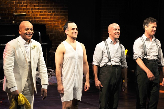 3 Kinds of Exile Opening Night – Omar Sangare – David Pittu – Jeffrey Kuhn – Martin Moran