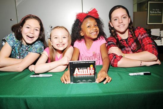 Annie-  CD Signing- Madi Rae DiPietro- Emily Rosenfeld- Tyrah Skye Odoms- Georgi James