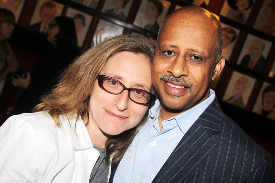 Off Broadway Alliance Awards – 2013 – Erika Mallin - Ruben Santiago-Hudson
