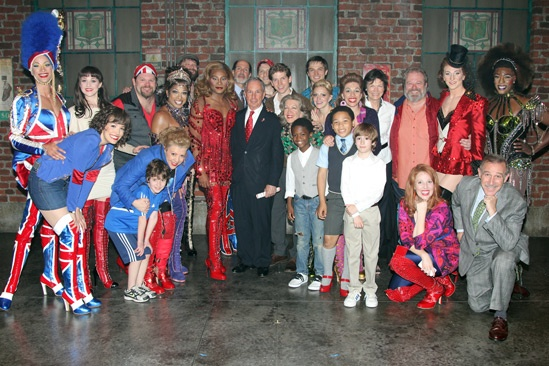 Kinky Boots- Mayor Mike Bloomberg- Cast