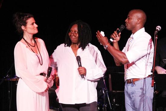 A Broader Way – Karaoke Benefit – Idina Menzel – Whoopi Goldberg – Taye Diggs