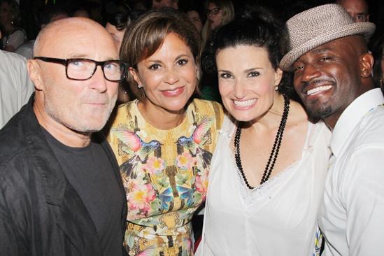 A Broader Way – Karaoke Benefit – Phil Collins – Dana Tyler - Idina Menzel – Taye Diggs