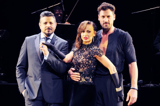 Forever Tango – Meet and Greet – Luis Enrique – Karina Smirnoff – Maksim Chmerkovskiy