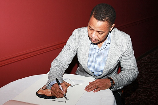 The Trip to Bountiful – Cuba Portrait at Sardi's – Cuba Gooding Jr.
