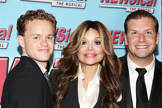 Newsical the Musical- Michael D'Angora- La Toya Jackson- Tom D'Angora