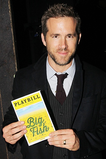 Blake Lively and Ryan Reynolds at Big Fish