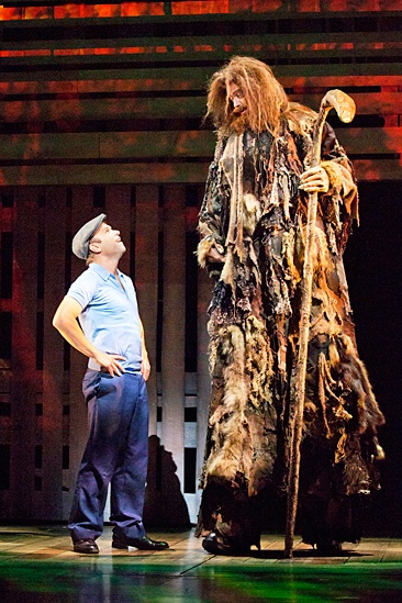 <i>Big Fish</i>: Show Photos - Big Fish - Norbert Leo Butz - Ryan Andes