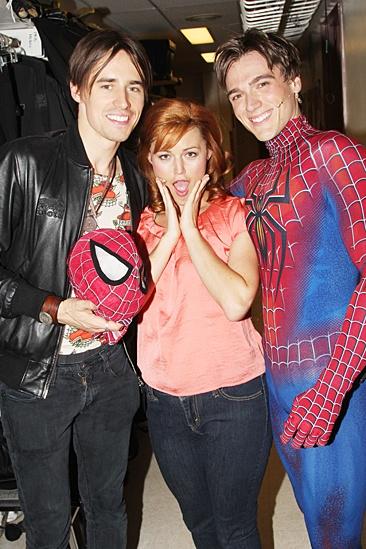Justin Matthew Sargent Joins Spider-Man – Reeve Carney – Rebecca Faulkenberry – Justin Matthew Sargent