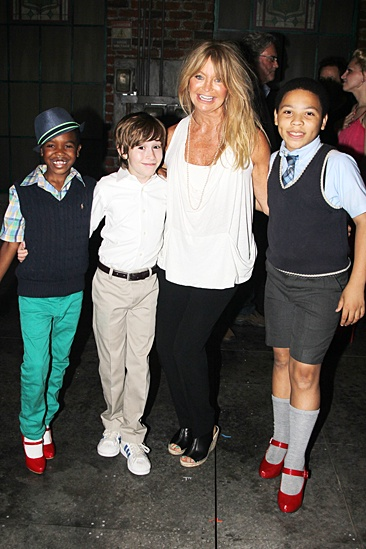 Goldie Hawn & Kurt Russell at Kinky Boots – Cole Bullock – Sebastian Hedges Thomas – Marquise Neal