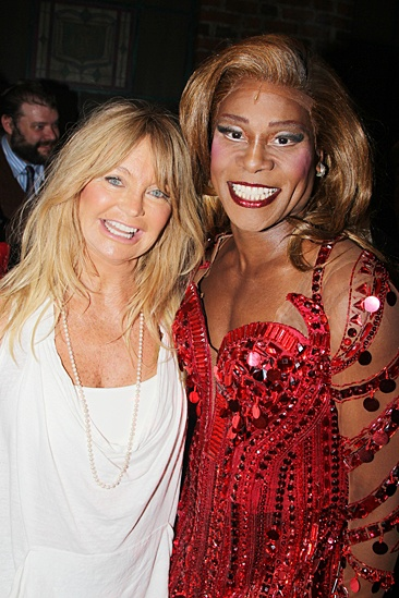 Goldie Hawn & Kurt Russell at Kinky Boots – Goldie Hawn – Billy Porter