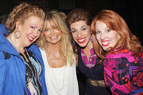 Goldie Hawn & Kurt Russell at Kinky Boots – Jennifer Perry – Goldie Hawn – Ellyn Marie Marsh – Tory Ross