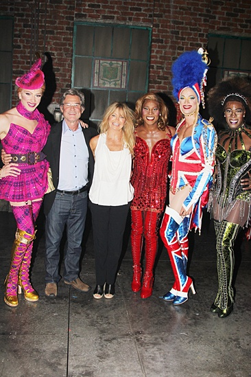 Goldie Hawn & Kurt Russell at Kinky Boots – Kurt Russell – Goldie Hawn – Angels