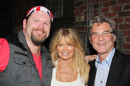 Goldie Hawn & Kurt Russell at Kinky Boots – Daniel Stewart Sherman