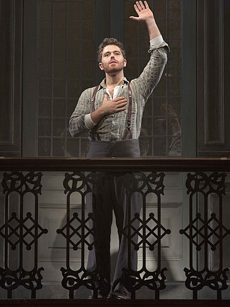 Show Photos - Evita - tour - Josh Young