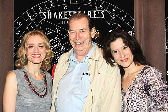 Macbeth – Meet and Greet – Anne-Marie Duff – Richard Easton – Bianca Amato