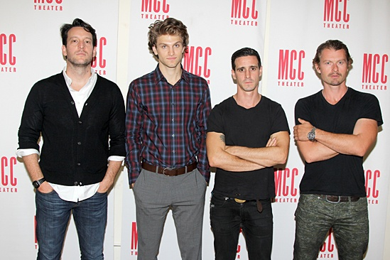 'Small Engine Repair' Press Day — John Pollono — Keegan Allen — James Ransone — James Badge Dale