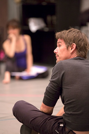 Macbeth – Rehearsal Photos – Ethan Hawke