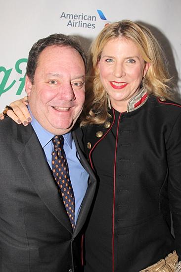 Big Fish – Opening Night – Jimmy Nederlander – Margo wife