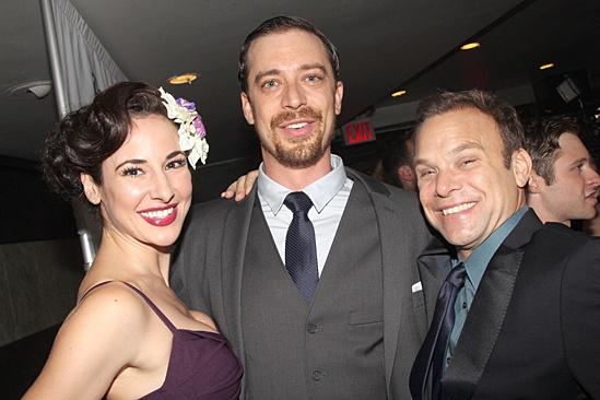 Big Fish – Opening Night – Sarrah Strimel – Ryan Andes – Norbert Leo Butz