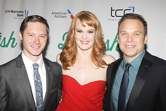 Big Fish – Opening Night – Bobby Steggert – Kate Baldwin – Norbert Leo Butz