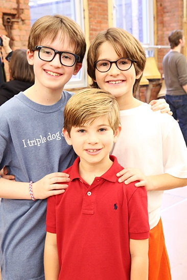 A Christmas Story – 2013 Meet and Greet – Jake Lucas – Noah Baird – Eli Tokash
