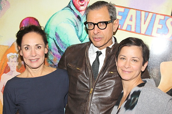 Domesticated Opening Night – Laurie Metcalf – Jeff Goldblum – Anna D. Shapiro