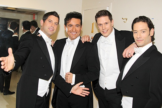 Photo 2 of 6 exclusive heather headley the il divo hunks debut their - Il divo cast ...