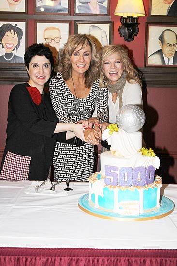Mamma Mia – 5,000 performance – Lauren Cohn – Judy McLane – Felicia Finley