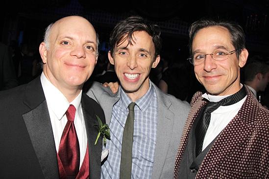 Gentleman's Guide opening night – Eddie Korbich – Kevin Cahoon – Price Waldman
