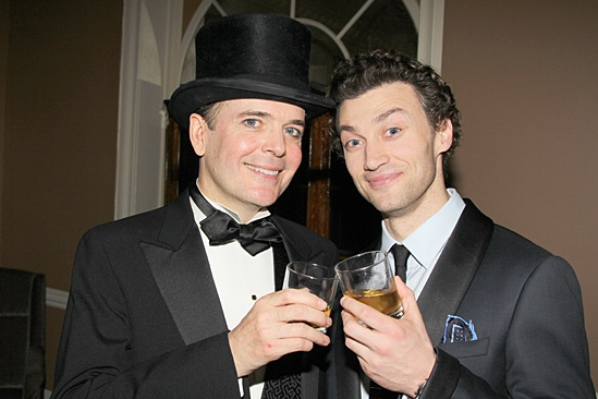 Gentleman's Guide opening night – Bryce Pinkham – Jefferson Mays