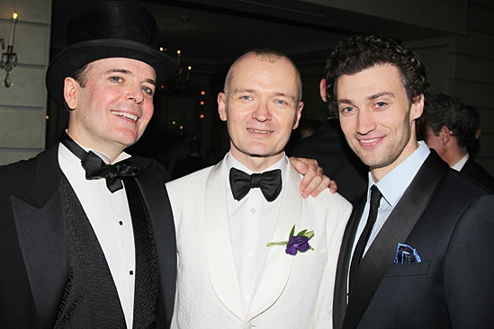 Gentleman's Guide opening night – Jefferson Mays – Darko Tresnjak – Bryce Pinkham