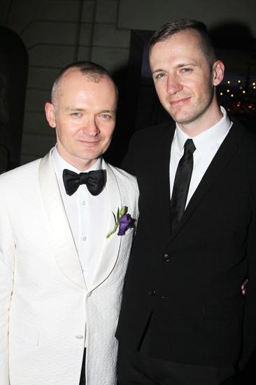 Gentleman's Guide opening night – Darko Tresnjak – partner Josh Pearson