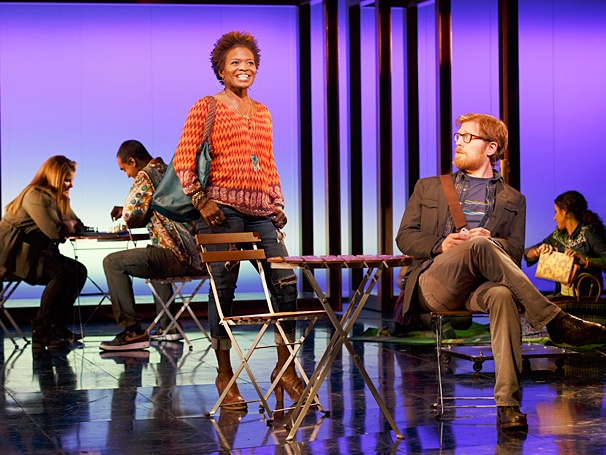<I>If/Then</I>: Show Photos - LaChanze - Anthony Rapp