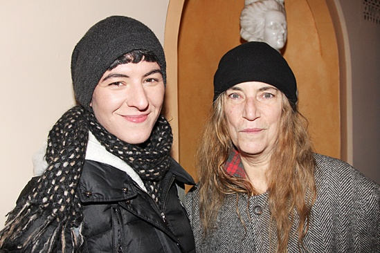 Waiting For Godot – Opening Night – Jesse Smith – Patti Smith