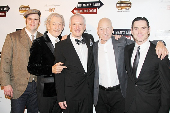 Waiting For Godot – Opening Night – Shuler Hensley – Ian McKellen – Sean Mathias – Patrick Stewart – Billy Crudup