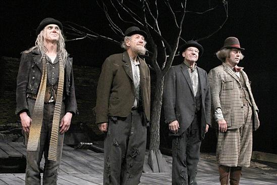 Waiting For Godot – Opening Night – Billy Crudup – Ian McKellen – Patrick Stewart – Shuler Hensley
