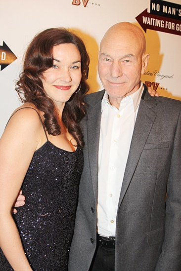 Waiting For Godot – Opening Night – Sunny Ozell – Patrick Stewart