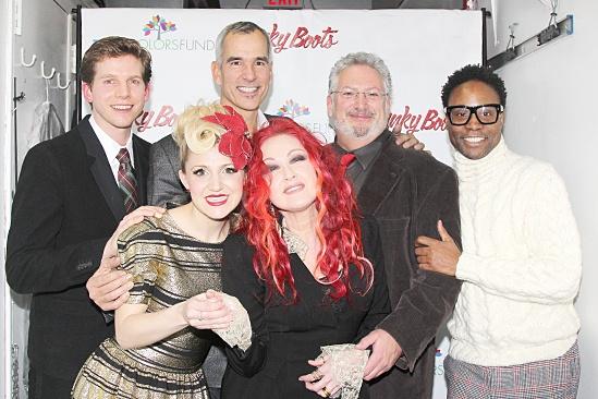 Cyndi Lauper True Colors Cabaret – Stark Sands – Annaleigh Ashford – Jerry Mitchell – Harvey Fierstein – Billy Porter