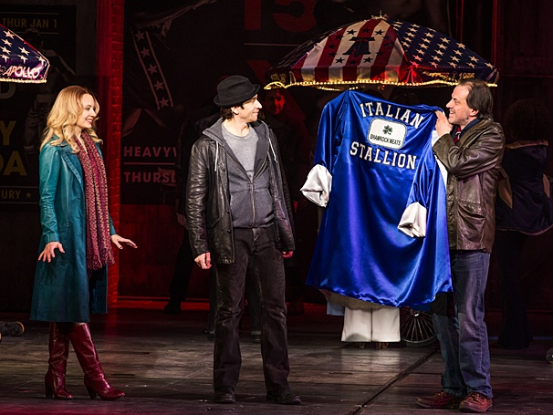 Rocky - Show Photos - PS - Jennifer Mudge - Andy Karl - Danny Mastrogiorgio