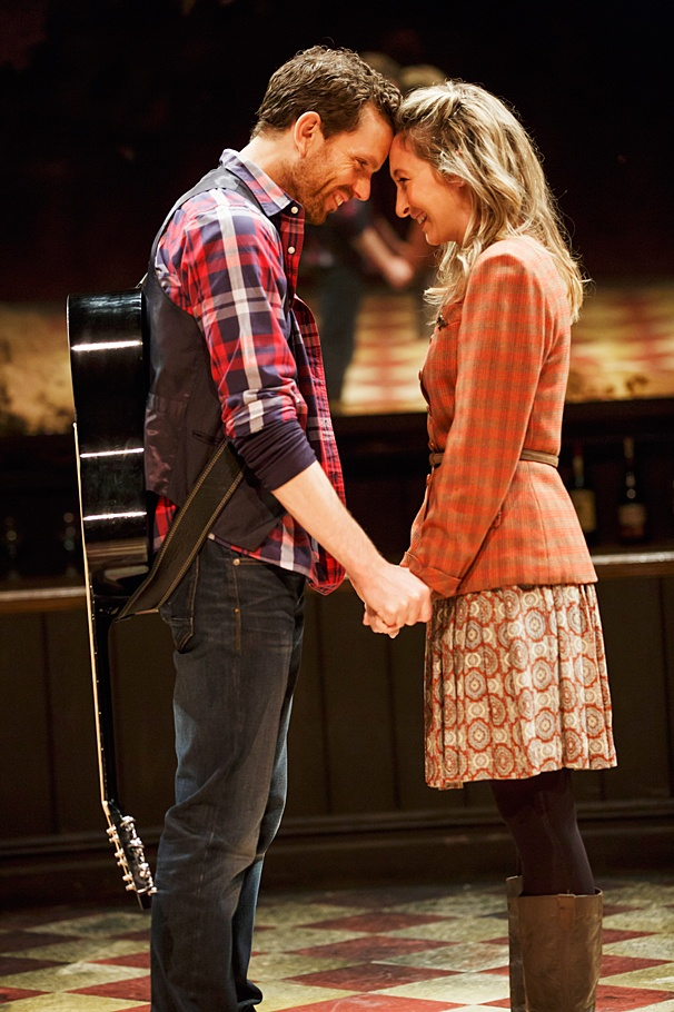 <I>Once</I>: Show Photos - 6/14 - Paul Alexander Nolan - Jessie Fisher