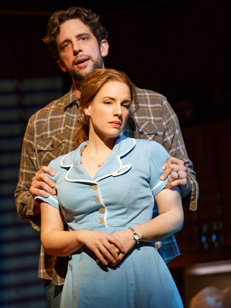 Show Photos - Waitress - 4/16 - Nick Cordero - Jessie Mueller