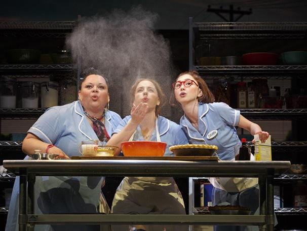 Show Photos - Waitress - 4/16 - Keala Settle - Jessie Mueller - Kimiko Glenn